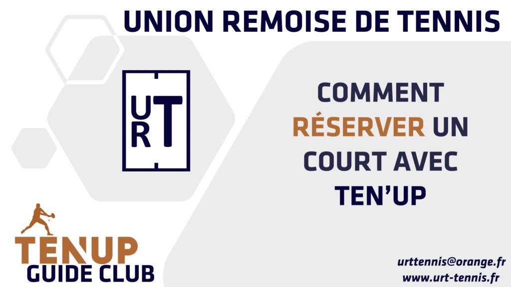 URT-Reserver un Terrain via TenUp 2021